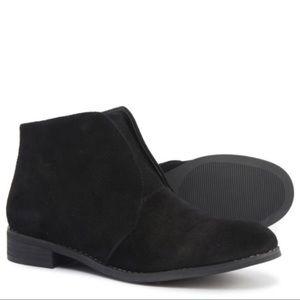 Blondo Verona Black Suede Ankle Booties   Size 7.5